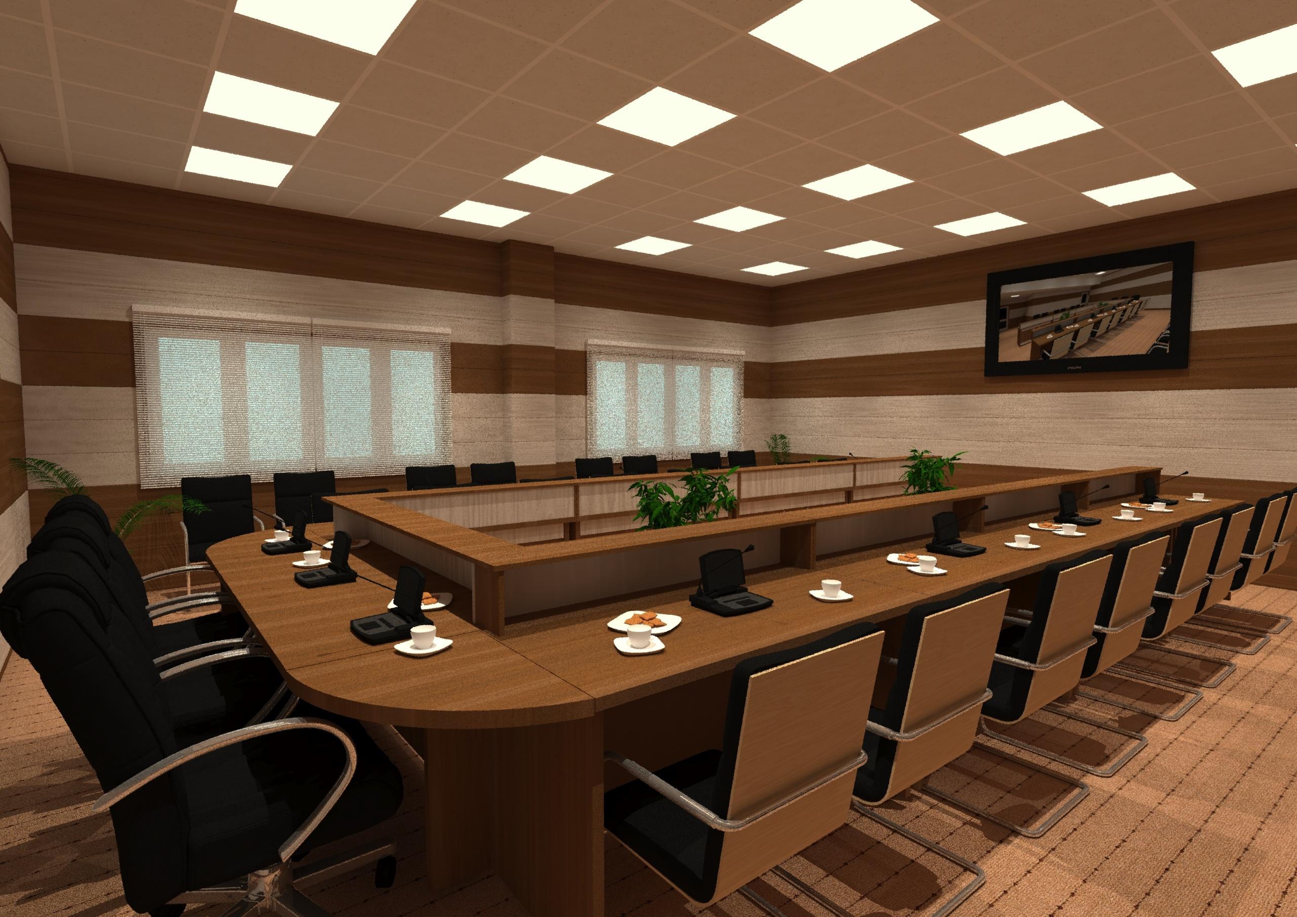 سالن کنفرانس دانشگاه بوئین زهرا 08