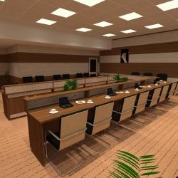 سالن کنفرانس دانشگاه بوئین زهرا 09