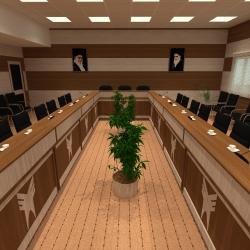 سالن کنفرانس دانشگاه بوئین زهرا 10